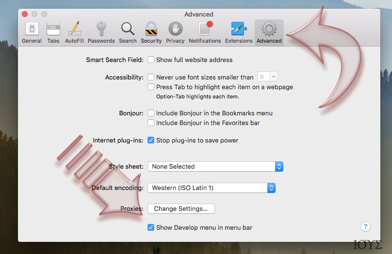 Στιγμιότυπο του Πώς γίνεται η επαναφορά (reset) του Safari?