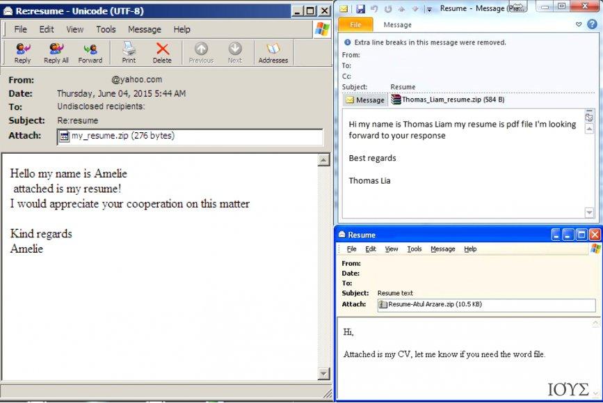 Στιγμιότυπο του Πώς ξεχωρίζει ένα μολυσμένο email που εμπεριέχει ιό?