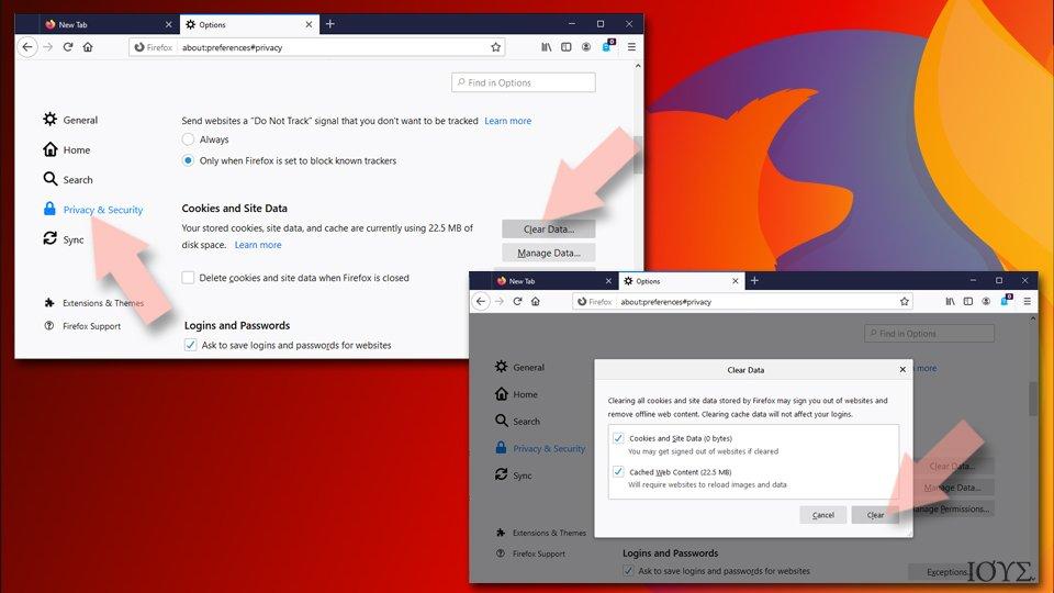 Ανανέωση Mozilla Firefox