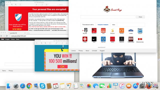 Στιγμιότυπο του Κυβερνο-απειλές που πρέπει να προσέχετε φέτος: adwares, browser hijackers και ιοί τύπου ransomware