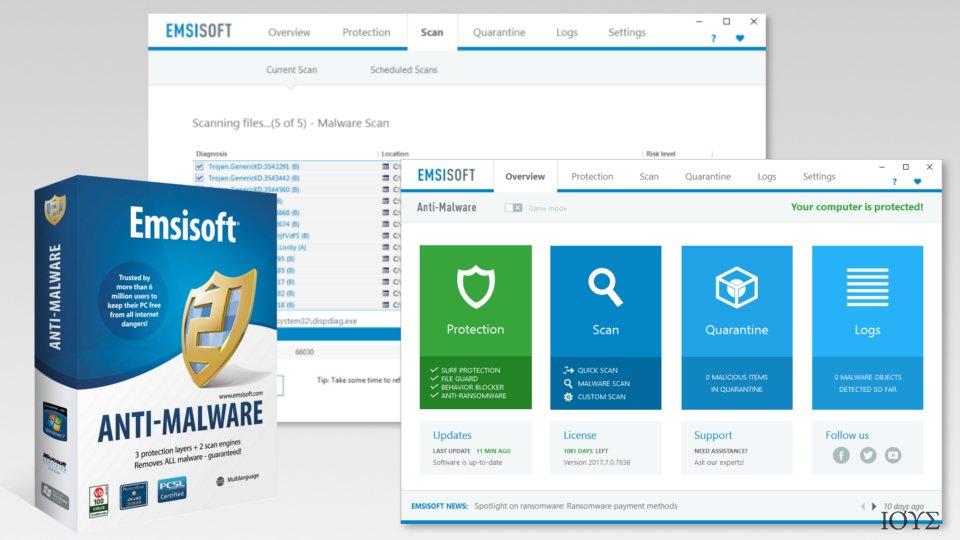 Screenshot of Malwarebytes Premium