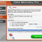 Στιγμιότυπο του Data Recovery Pro
