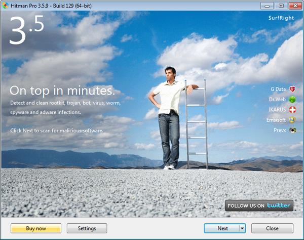 Στιγμιότυπο του Hitman Pro