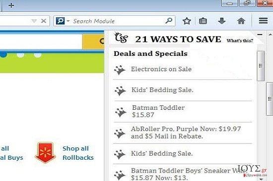 Στιγμιότυπο του 21 Ways To Save Deals and Specials