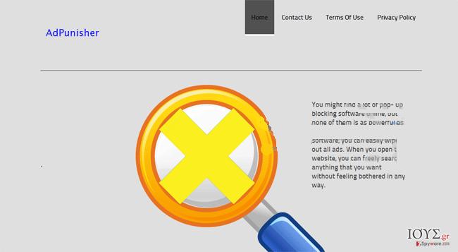 Στιγμιότυπο του AdPunisher