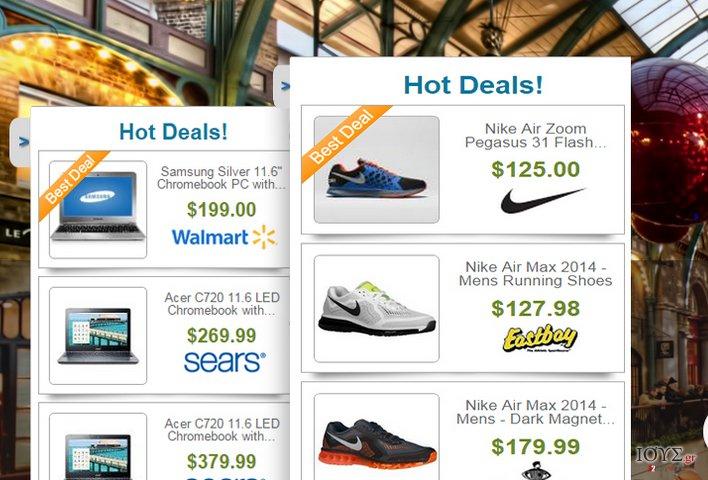 Στιγμιότυπο του Διαφημίσεις από Deals Finder