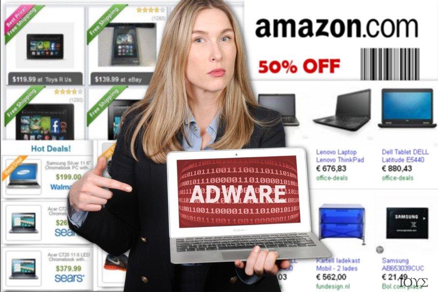 Στιγμιότυπο του Διαφημίσεις από NewTab