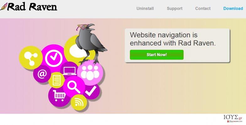 Στιγμιότυπο του Διαφημίσεις του Rad Raven