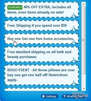 Στιγμιότυπο του Διαφημίσεις από Shoppy