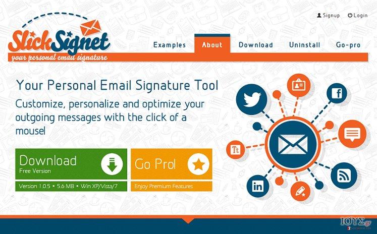 Στιγμιότυπο του Διαφημίσεις από SlickSignet