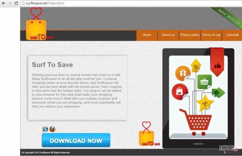 Στιγμιότυπο του Διαφημίσεις του Surf to Save