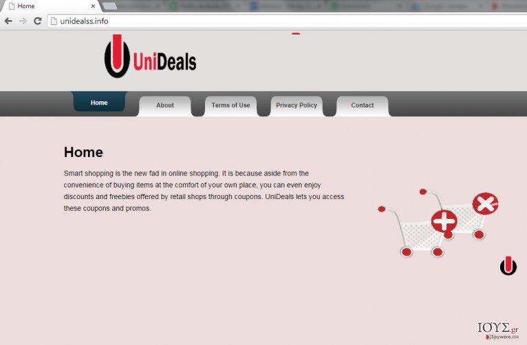 Στιγμιότυπο του Διαφημίσεις από UniDeals