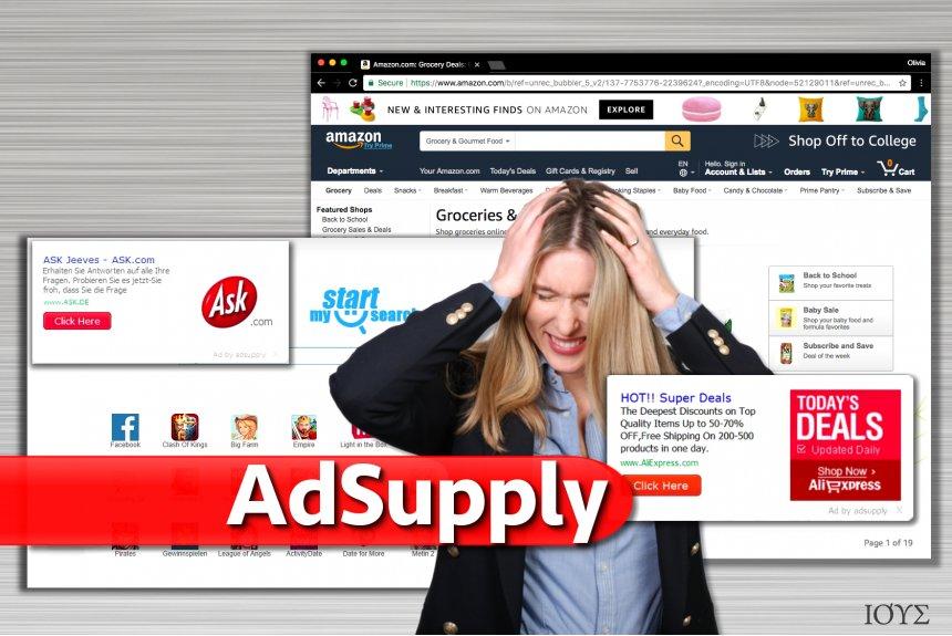Στιγμιότυπο του Διαφημίσεις από Adsupply