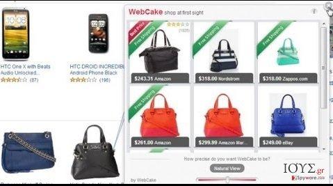 Στιγμιότυπο του Savings Explorer adware (ανεπιθύμητο πρόγραμμα διαφημίσεων)