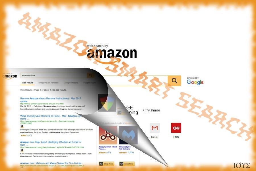 Στιγμιότυπο του Amazon Smart Search
