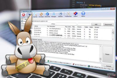 Στιγμιότυπο οθόνης (screenshot) της εφαρμογής amuleC
