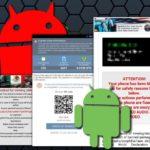 Στιγμιότυπο του Ιός Android