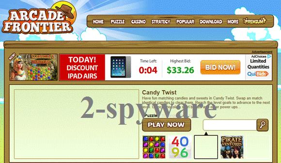 Στιγμιότυπο του Arcade Frontier