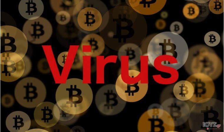 Στιγμιότυπο του Bitcoin virus