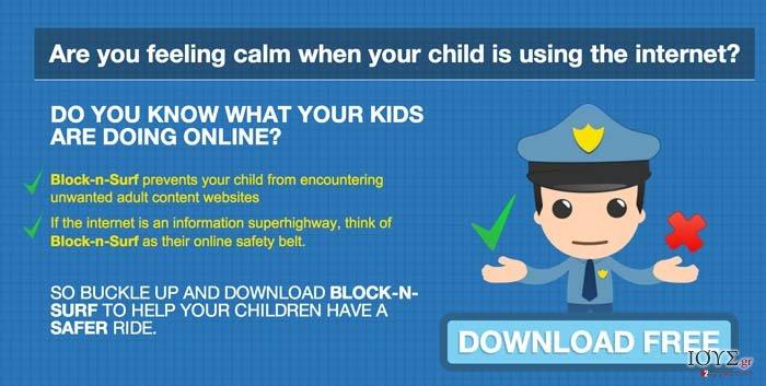 Στιγμιότυπο του Διαφημίσεις BlockNSurf