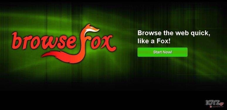 Στιγμιότυπο του BrowseFox