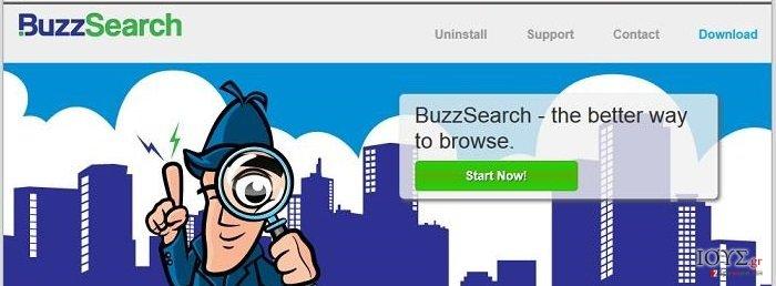 Στιγμιότυπο του BuzzSearch