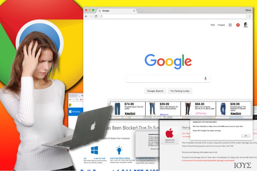 Ο ιός Chrome adware