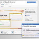 Στιγμιότυπο του Chrome redirect virus