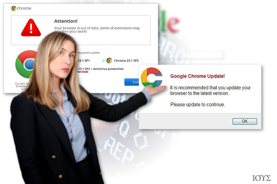 Chrome redirect virus
