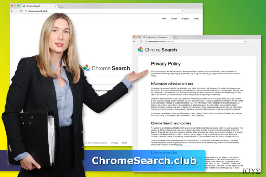Ο ιός ChromeSearch.club