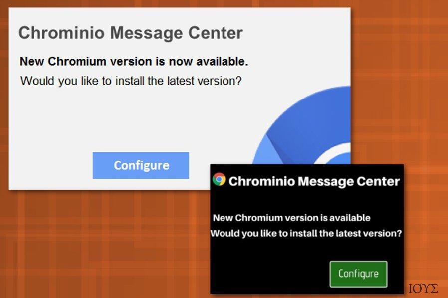 Ιός Chrominio Message Center