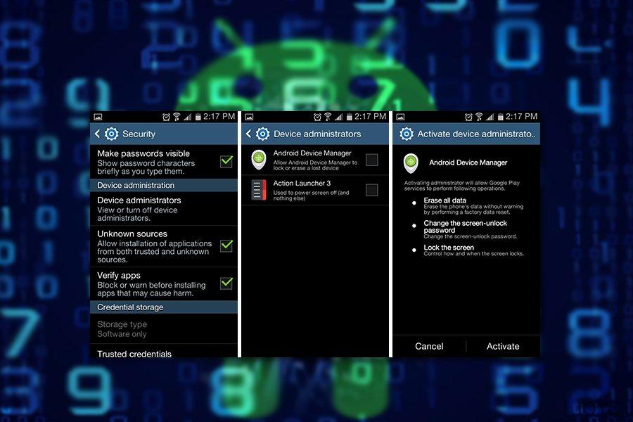 Παράδειγμα του ιού Android virus-com.google.provision
