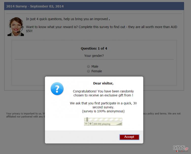 Στιγμιότυπο του Consumer-responses.com αναδυόμενος ιός