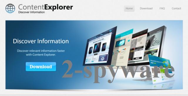 Στιγμιότυπο του Content Explorer