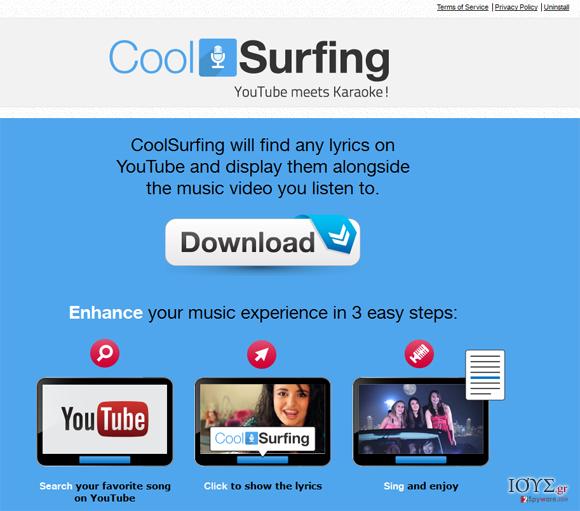 Στιγμιότυπο του CoolSurfing