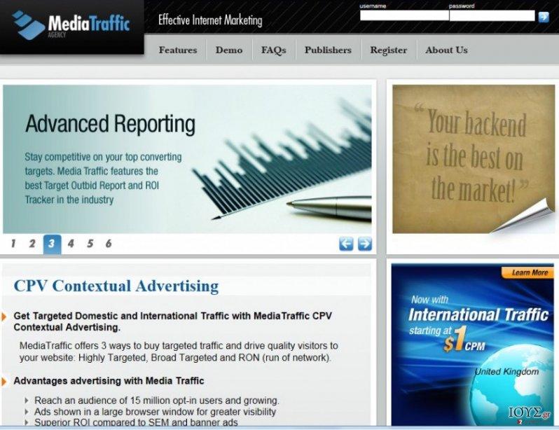 Στιγμιότυπο του cpvfeed.mediatraffic.com ανακατεύθυνση