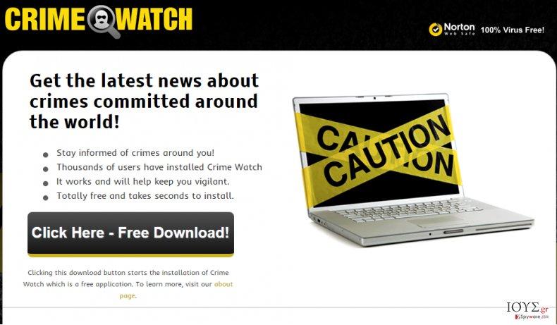 Στιγμιότυπο του ΔΙΑΦΗΜΙΣΕΙΣ ΑΠΟ Crime Watch