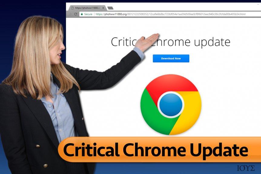 Critical Chrome Update Ιός