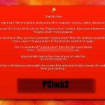 Στιγμιότυπο του Cryptolocker