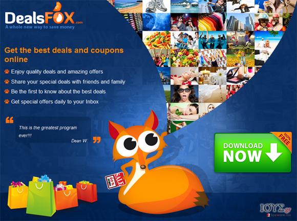 Στιγμιότυπο του DealsFox