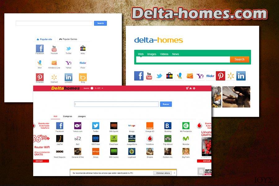 Στιγμιότυπο του Delta-homes.com