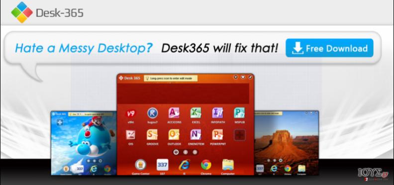 Στιγμιότυπο του Desk 365 virus