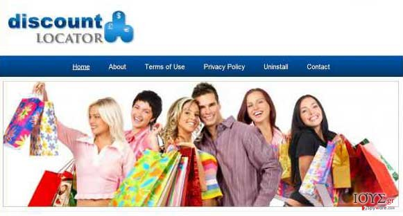Στιγμιότυπο του Discount Locator διαφημίσεις
