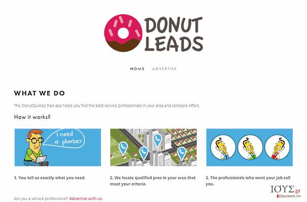 Στιγμιότυπο του ΔΙΑΦΗΜΙΣΕΙΣ ΑΠΟ DonutQuotes