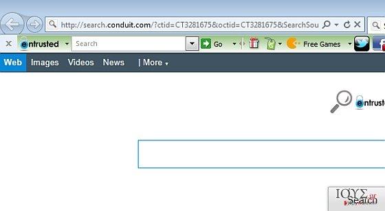 Στιγμιότυπο του Entrusted Toolbar