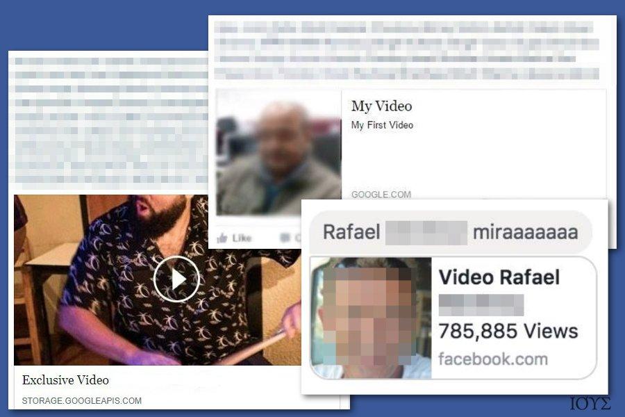 Στιγμιότυπο του Ιός Facebook video