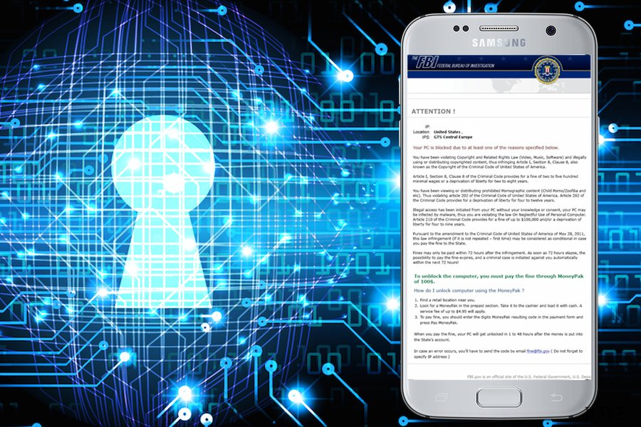Στιγμιότυπο του FBI Green Dot Moneypak Virus
