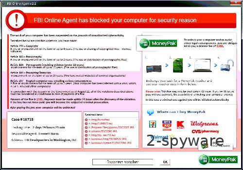 Στιγμιότυπο του FBI Online Agent
