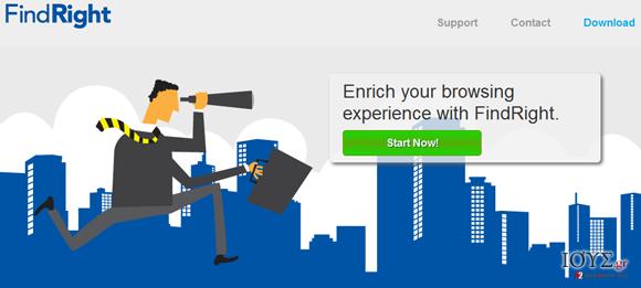 Στιγμιότυπο του FindRight virus