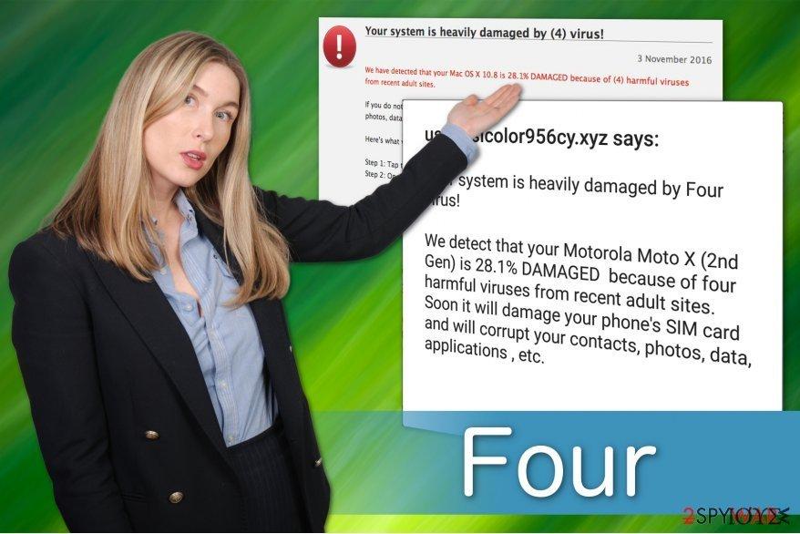 Ο ιός Four έχει πολλές παραλλαγές